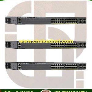 WS C2960X 24TS L